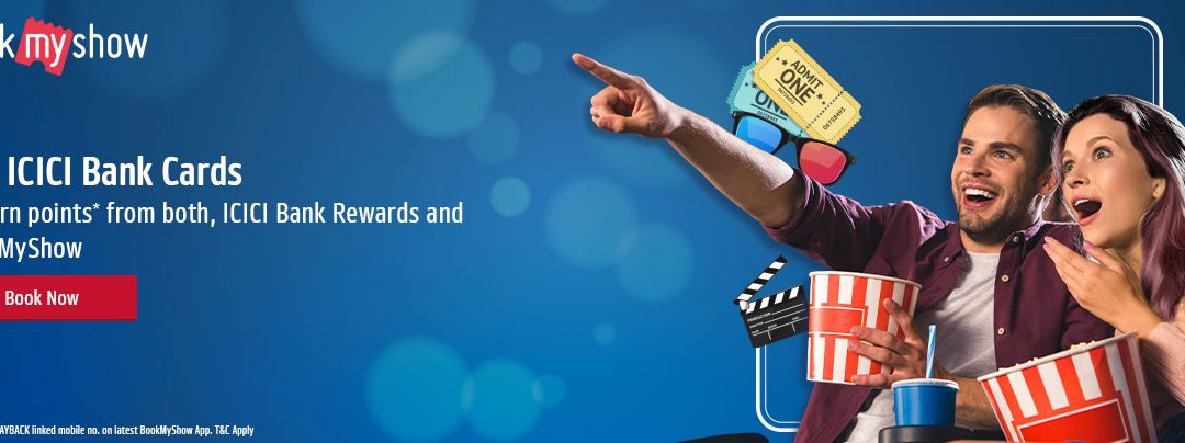 bookmy show stream offers with ICICI and PAYBACK
